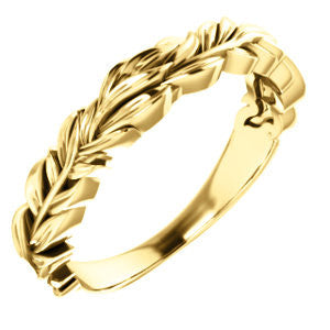 Leaf Ring - SEA Wave Diamonds