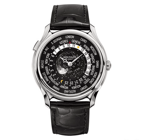 Patek Philippe World Time 175th Anniversary Ref. 5575G - SEA Wave Diamonds
