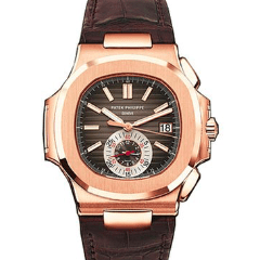 Patek Philippe 5980R-001 Nautilus Mens Rose Gold watch - SEA Wave Diamonds