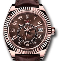 Rolex Sky-Dweller Pink Gold 326135 - SEA Wave Diamonds