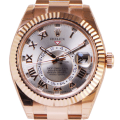 Rolex Sky-Dweller Rose Gold 326935 - SEA Wave Diamonds