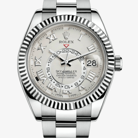 Rolex Skydweller White Gold Oyster Bracelet 326939 - SEA Wave Diamonds
