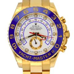 Rolex Yacht Master 2 / 18k Yellow Gold / 116688 - SEA Wave Diamonds