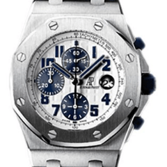 Audemars Piguet Royal Oak Offshore Navy Chronograph - SEA Wave Diamonds