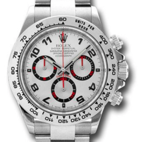 Rolex Daytona white gold 116509 sa