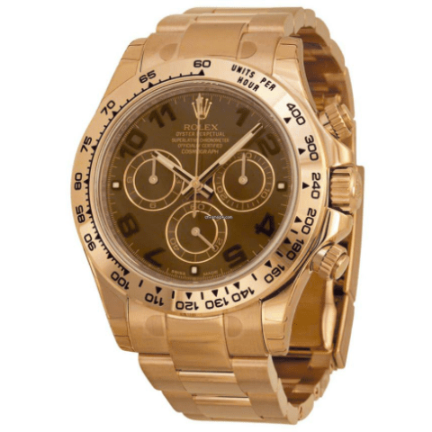 Rolex Daytona Everose Gold Chocolate Dial 116505