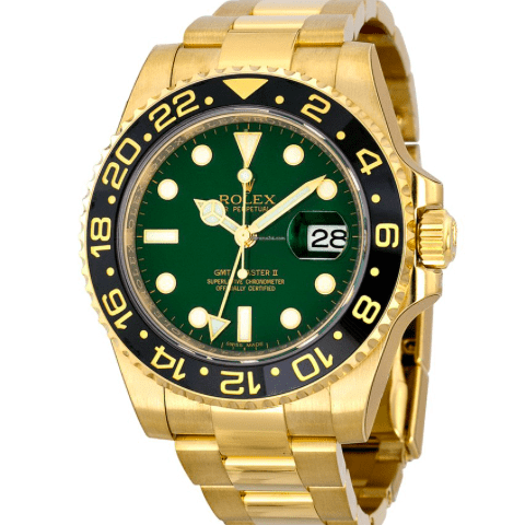 Rolex GMT-Master II Yellow Gold 116718 g