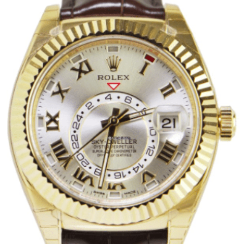 Rolex Sky-Dweller Yellow Gold REF: 326138 - SEA Wave Diamonds
