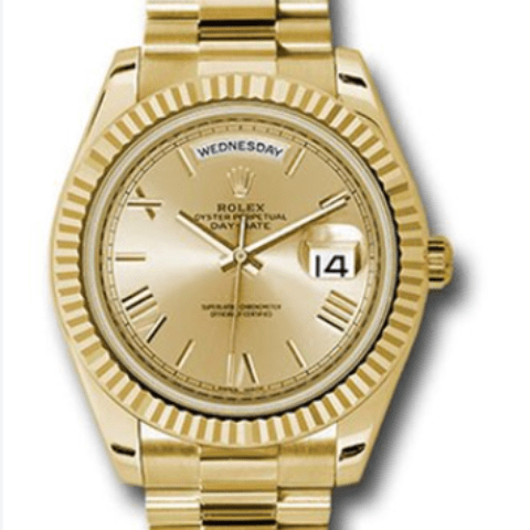 Rolex Day-Date 40mm Yellow Gold 228238 chrp