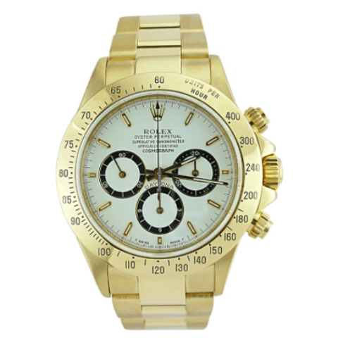 Rolex Daytona/Yellow Gold/Zenith Movement/16528 - SEA Wave Diamonds