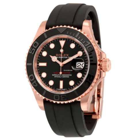 Rolex 116655 Yacht-Master 40mm Everest Gold pink Gold - SEA Wave Diamonds