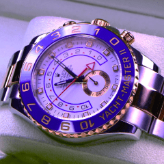 Rolex Watch 116681 Yacht-Master Yacht-Master II - SEA Wave Diamonds