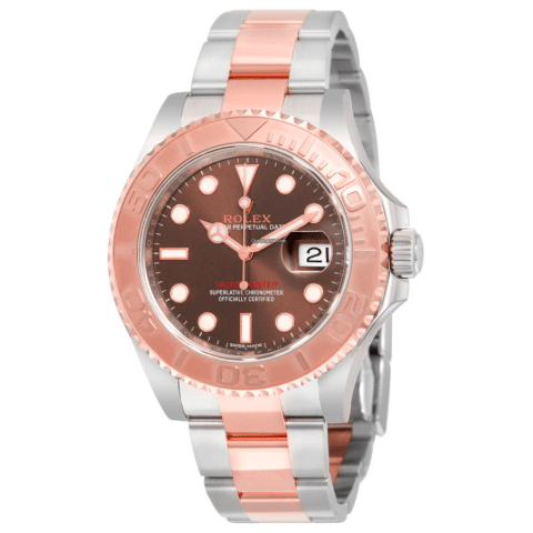 Rolex 116621 Oyster Perpetual Yacht-Master 40mm Everose - SEA Wave Diamonds