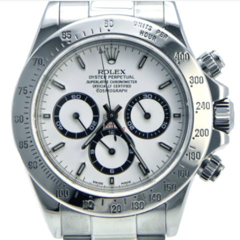 Rolex Daytona Stainless Steel / Zenith / - SEA Wave Diamonds