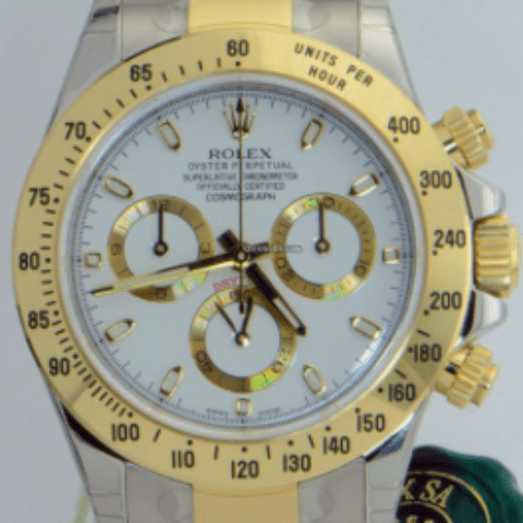 Rolex Daytona Steel and Gold UNWORN 2015 116523 ws - SEA Wave Diamonds