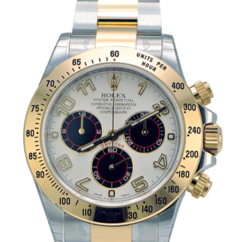 Rolex Daytona 2-Tone REF: 116523 - SEA Wave Diamonds