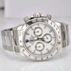 Rolex Daytona Stainless Steel White Dial Scrambled Serial - SEA Wave Diamonds
