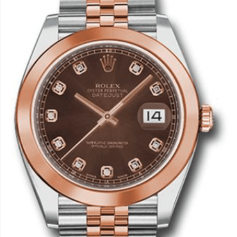 Rolex Datejust 41mm Everose steel 126301 chodj