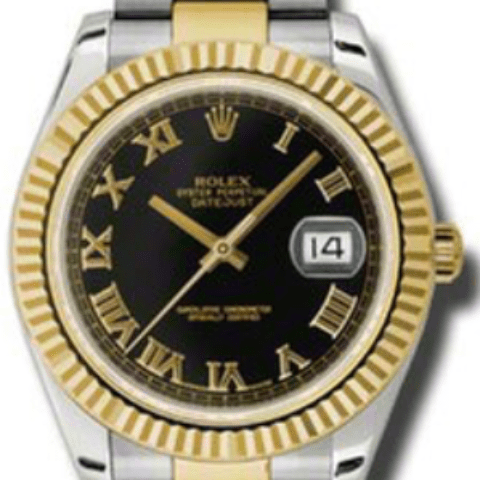 Rolex 116333 bkro Datejust II 41mm - Steel and Gold Yellow Gold - SEA Wave Diamonds