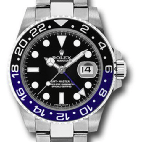 Rolex GMT-Master II 116710BLNR GMT-Master II Steel - SEA Wave Diamonds