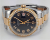 Rolex Datejust 36mm Two Tone Aftermarket Diamond Bezel REF:116201 - SEA Wave Diamonds