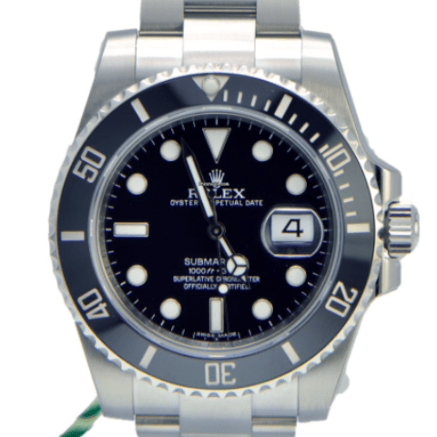 Rolex Submariner Stainless Steel Ceramic 116610LN