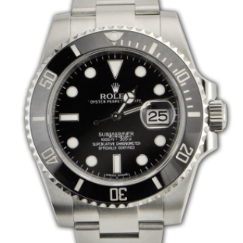 Rolex Submariner date Steel ceramic bezel 116610LN