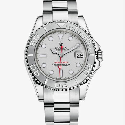 Rolex Yacht-Master / Platinum Dial / 40mm / 16622 - SEA Wave Diamonds