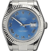 Rolex DateJust II 41mm Steel and White Gold - Fluted Bezel