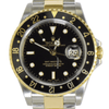 Rolex Oyster Perpetual Date GMT Master II 16713 - SEA Wave Diamonds