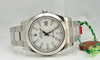 Rolex DateJust II / White Dial / Stainless Steel Domed Bezel