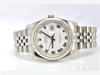 Rolex DateJust Stainless Steel, White Roman, Papers, Scramble