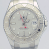 Rolex Oyster Perpetual YachtMaster Platinum Bezel 35mm REF:168622