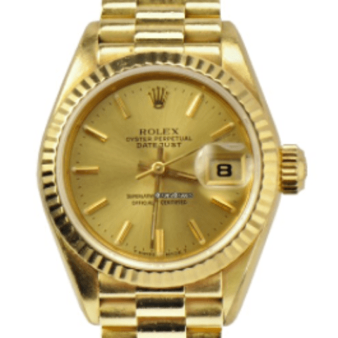 Rolex Ladies President Datejust Yellow Gold REF: 69178