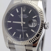 Rolex Datejust 36mm Stainless Steel and White Gold Fluted Bezel