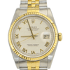 Rolex DateJust/2-Tone Yellow Gold and Stainless Steel REF: 16233 - SEA Wave Diamonds