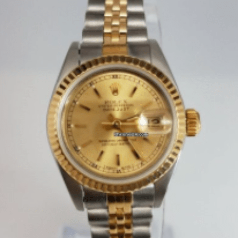 Rolex 2-Tone Datejust Ladies with Jubilee Bracelet
