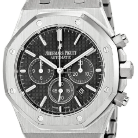 Audemars Piguet Watch 26320ST.OO.1220ST.01 Royal Oak Chrono - SEA Wave Diamonds