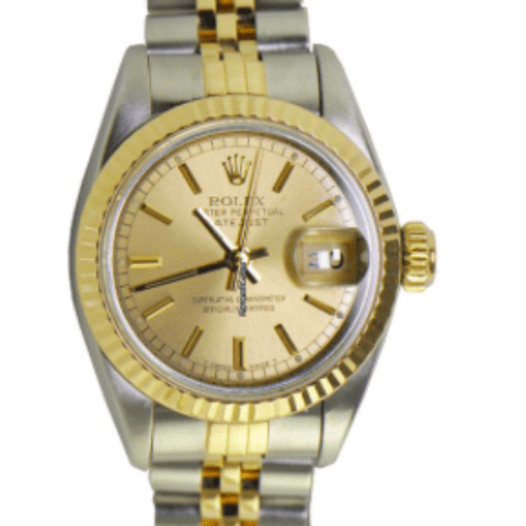 Rolex Lady's 2-Tone Datejust with Jubilee Bra