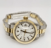Rolex Date Two Tone REF:6919 - SEA Wave Diamonds