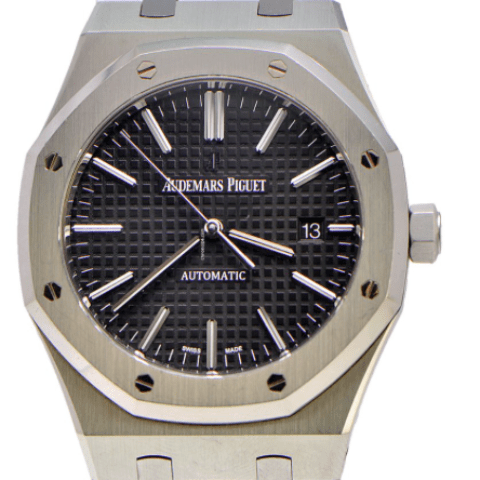 Audemars Piguet Royal Oak 41mm Stainless Steel Full Package - SEA Wave Diamonds