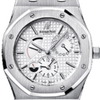 Audemars Piguet royal Oak dual time 39mm silver dial