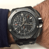 Audemars Piguet Royal Oak Offshore Black Carbo Complete 26400AU.00.A002CA.01 - SEA Wave Diamonds