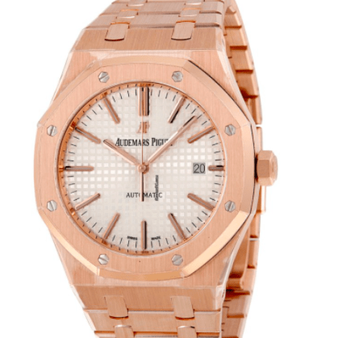 Audemars Piguet Royal Oak Selfwinding 41mm pink gold 15400OR - SEA Wave Diamonds