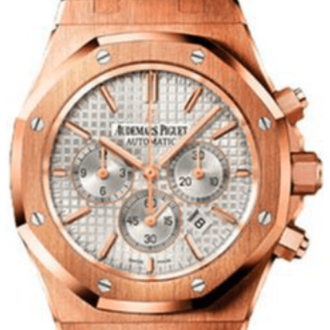 Audemars Piguet Royal Oak Chronograph 41mm pink gold 263200R - SEA Wave Diamonds