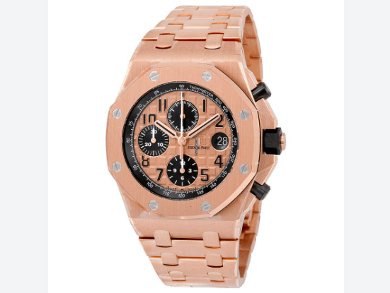 Audemars Piguet ROYAL OAK OFFSHORE CHRONOGRAPH pink gold 42mm - SEA Wave Diamonds