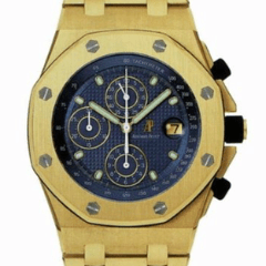 Audemars Piguet Royal Oak Offshore Chronograph 18K blue dial - SEA Wave Diamonds