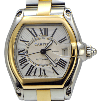 Cartier Roadster 2-tone - SEA Wave Diamonds