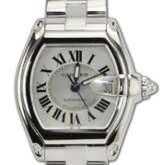 Cartier Roadster Stainless Steel REF: W62025V3 - SEA Wave Diamonds