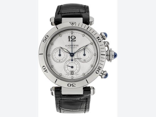 Cartier Pasha Diver Chronograph Automatic W3103055 - SEA Wave Diamonds